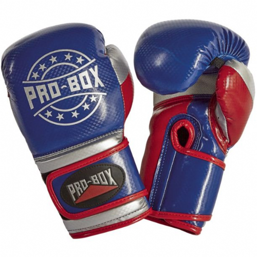 Pro-Box Champ-Spar Boxing Gloves - Blue/Red